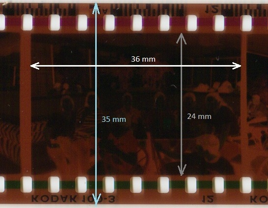 35mm stills negative film