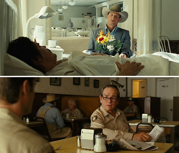 No country for Old Men (2007) depth of field